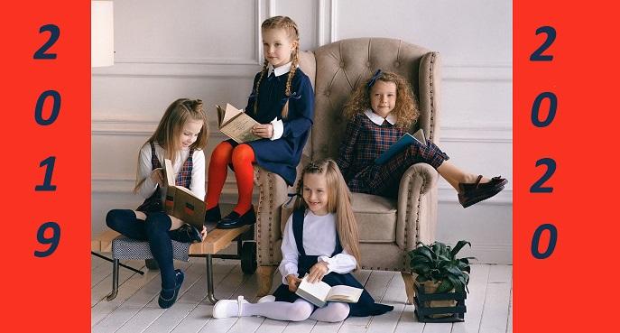 Модная школьная форма для девочек 2019-2020