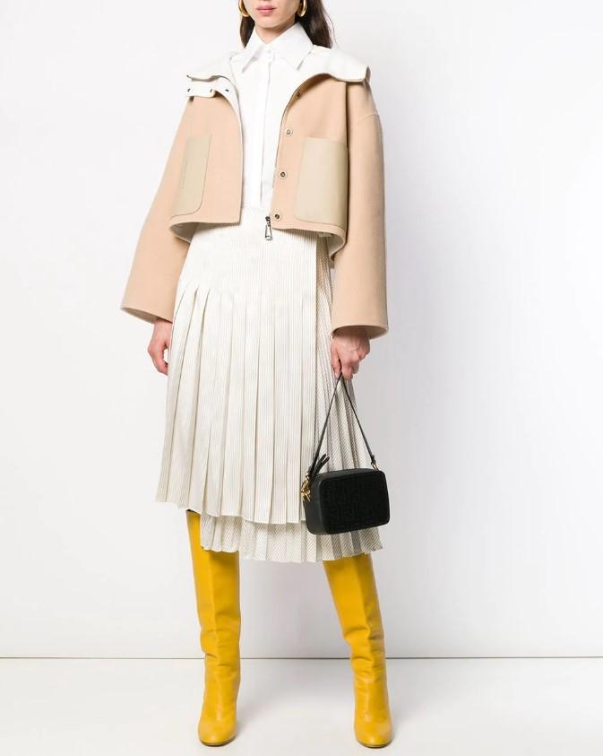 Модные теплые юбки холодного сезона 2020-2021