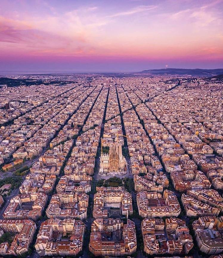 Погода в Барселоне на Август 2019: самый точный прогноз