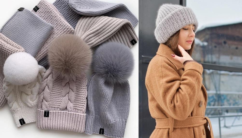 Как выбрать идеальную вязаную шапку по типу лица на 2021 год