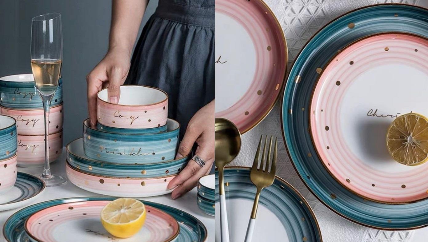 Какая кухонная посуда сейчас в моде: цвета, тренды 2020 фото