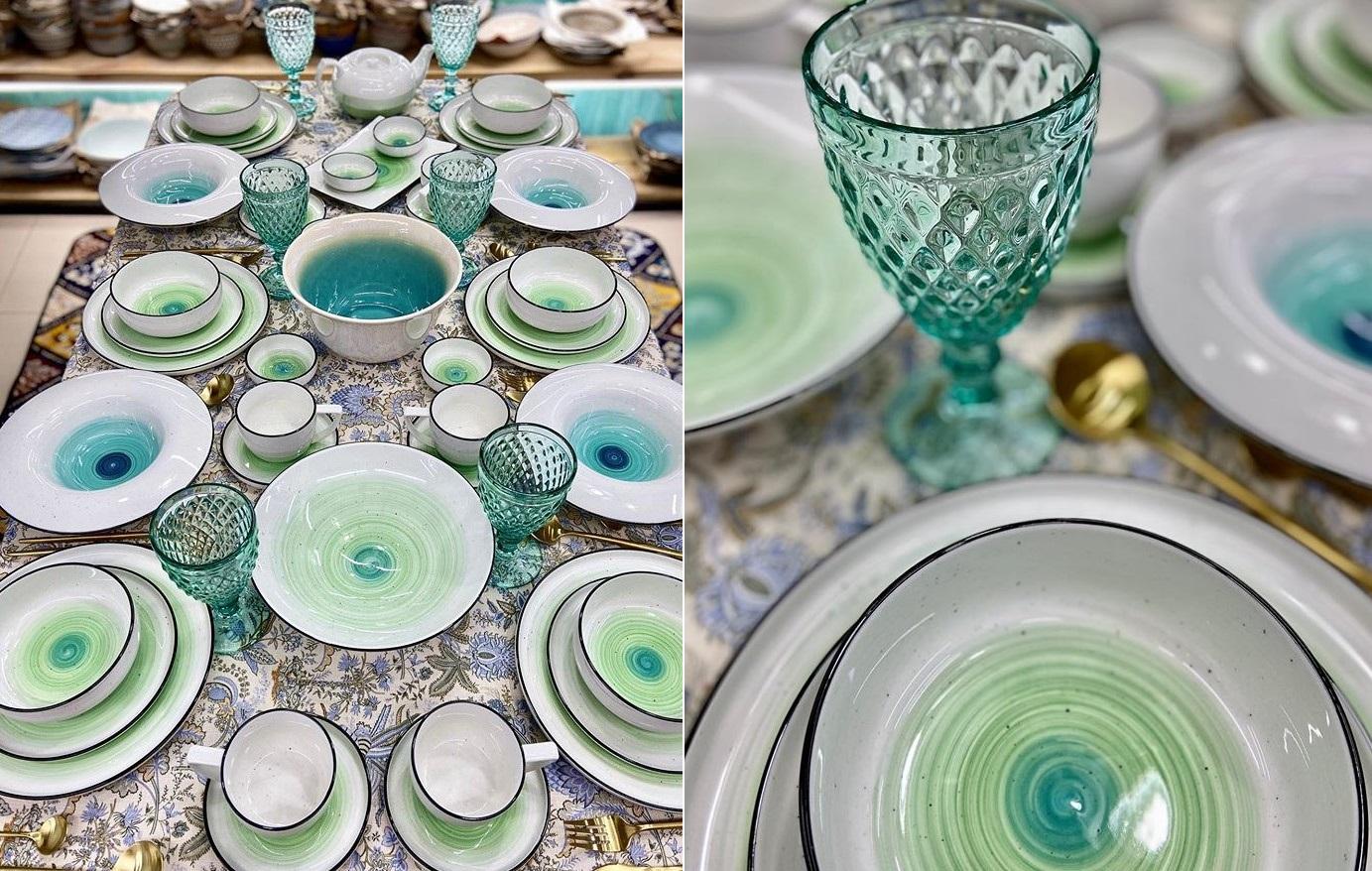 Какая кухонная посуда сейчас в моде: цвета, тренды 2021 фото