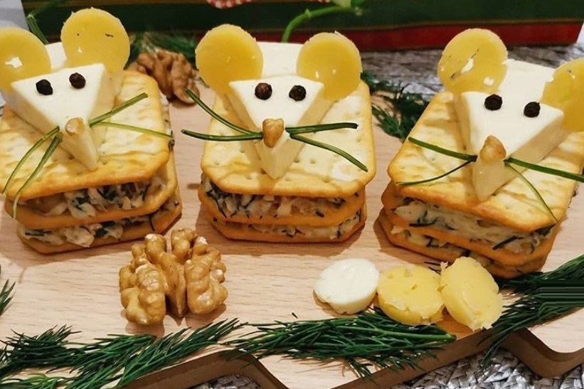 Бутерброды на Новый год 2020 самые вкусные и простые рецепты