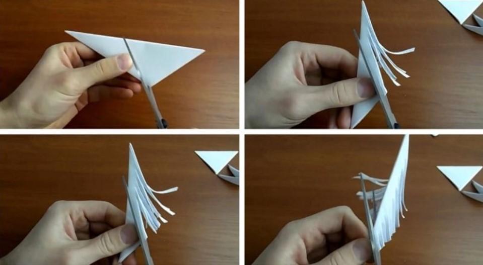 Объемные снежинки из бумаги своими руками на Новый год 2021