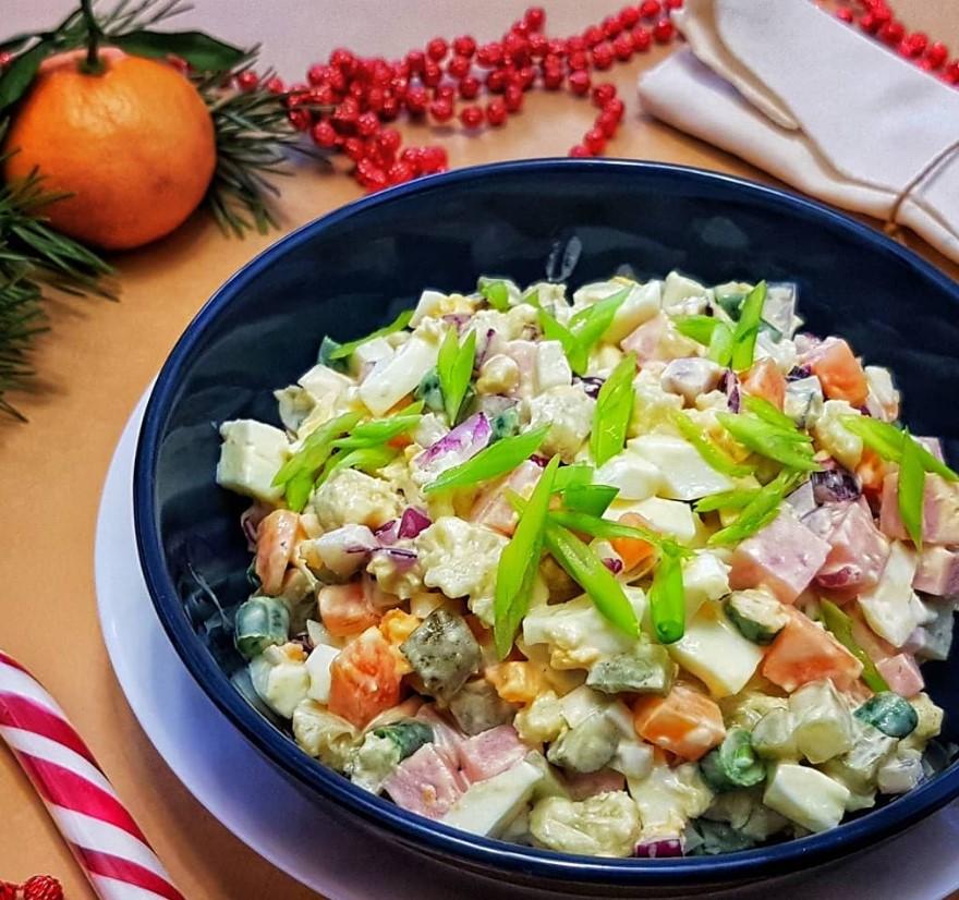 Разрешенные салаты по диете Дюкана ТОП рецептов с фото