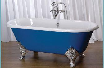 Правила выбора чугунной ванны