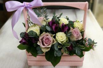 Какую выбрать цветочную композицию в коробке?