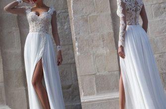 Какой шифон выбрать для свадебного платья?