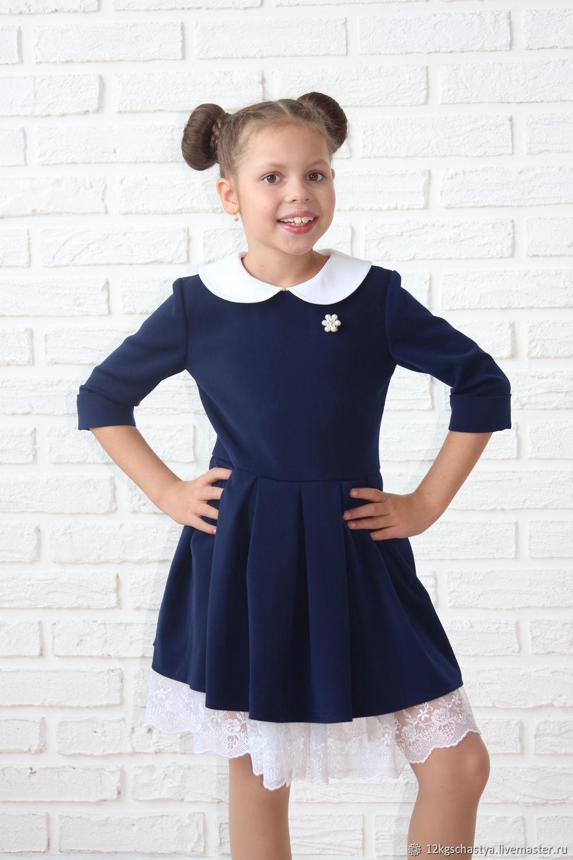 Как выбрать школьное платье девочке?