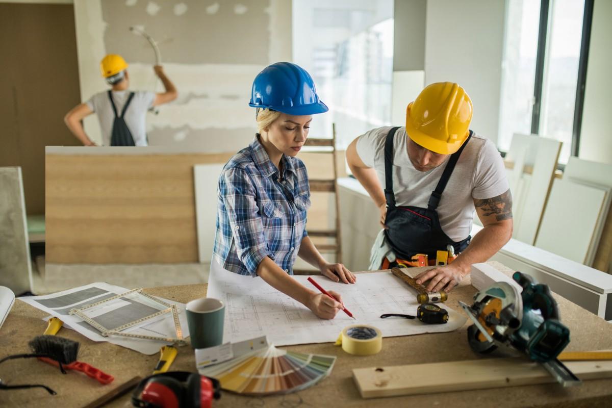 В АСК Триан выполняется ремонт квартиры любой сложности