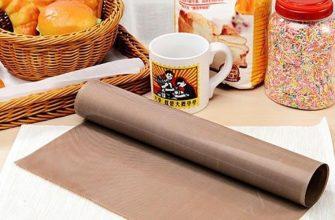 Как используют тефлоновый коврик?
