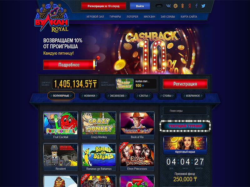 Что представляет собой онлайн казино Вулкан Вип?