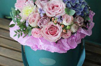 Шляпная коробка – новый тренд в мире флористики