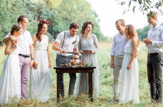 Как отметить свадьбу летом?