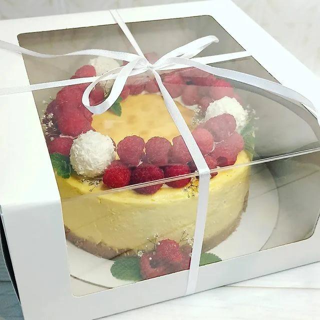 Какие бывают коробки для торта?