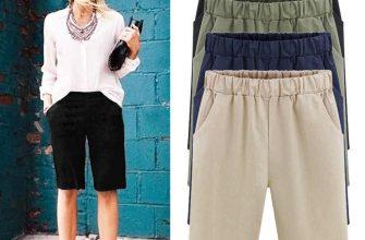 Выбираем женские шорты большого размера